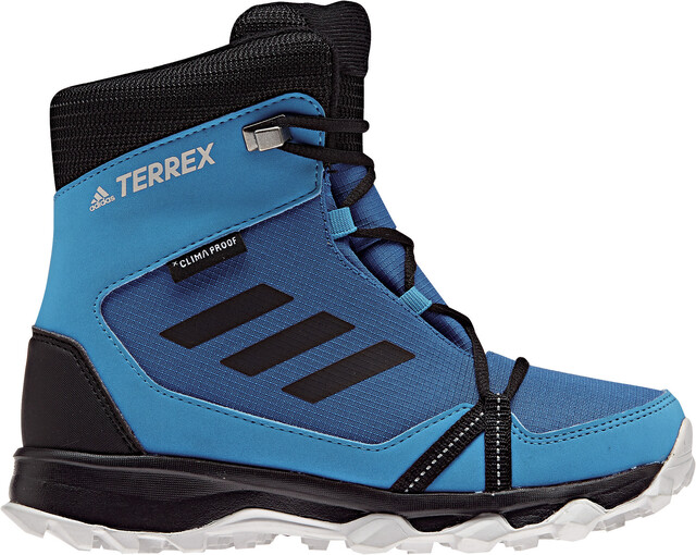 TERREX AX2R CLIMAPROOF HIKING SHOES Zapatillas de senderismo blue beautycore blackhi res orange
